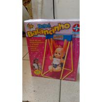 Boneca Bebe Balançinho Estrela (brinquedo Antigo)