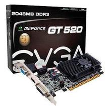 Placa De Vídeo Evga Vga Geforce Gt 520 2gb/64 Bits Ddr3