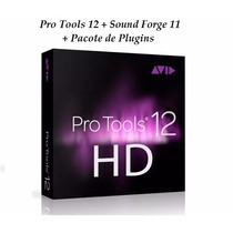 Pro Tools 12 Hd + Sound Forge 11 + Brindes