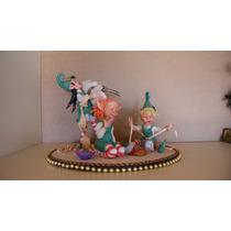 Duendes Navideños. Duendes Hadas Y Dragones (porcelana Fria)
