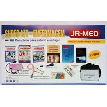Super Kit De Enfermagem - Completo Livros+aparelho Pa