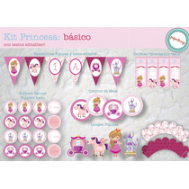 Kit Cumpleaños Princesa