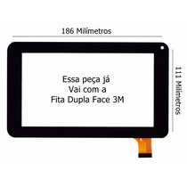 Tela Tablet Cce Motion Gloss Tr72p Touch Pronta Entrega