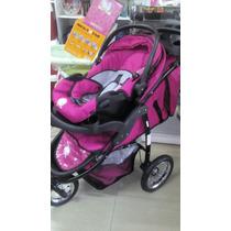 Carrinho De Bebê Baby Happy Três Rodas +bebe Conforto