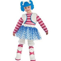 Disfraz Talla 3 A 4 Años Lalaloopsy Mittens Fluff Azul