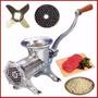 Maquina Picar Moledora Picadora Carne Fundicion Metal Nº22