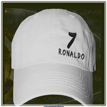 Gorra Cristiano Ronaldo Cr7 2014 (real Madrid)