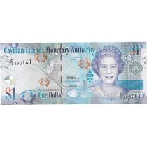 Billete Cayman 1 Dolar Año 2015 Peces Sin Circular