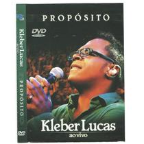 Dvd Kleber Lucas Ao Vivo-original/dublado-usado