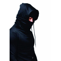Buzo Ninja Cuello Y Capucha Entallado Slim Fit Minimalstore