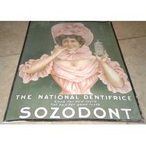 Anuncio Antiguo De Pasta Dentrifica, Dentistas Odontologia