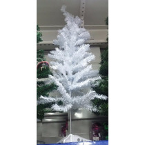 Árvore De Natal Pinheiro Branco 1,20m 110 Galhos Promoção!!!
