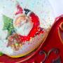Adorno De Navidad Santini Santa Claus Con Luces Original