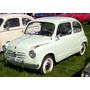 Silenciador Fiat 600 S - Estampado - Original