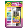 Crayola Aerógrafo Marker Y Stencil Paquete Chica