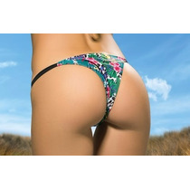 Bikini Cocot Tanga Estampada Collareta 12627 Traje De Baño