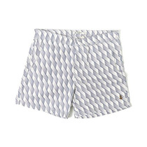Retromarine Traje Baño Short Windows Niño Kids Playa Blanco