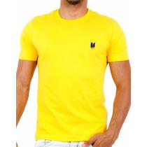 Camiseta Básica Polo Wear Original Amarela X0013679