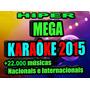 Kit Karaoke 2016 Cante 22mi Sucesso Nacionais Internacionais