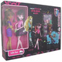 Monster High Pack Cafetería De Draculaura Y Clawdeen Wolf