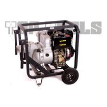 Bomba De Agua Motor Diesel 12hp Tragasolidos 3x3