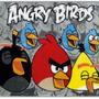 Tapete Infantil Estampa Angry Birds 80x1,20 - Jolitex Jolit