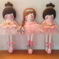 Muñecas Bailarinas Con Tutu Juguetes De Niñas