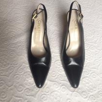 Sapato Chanel Couro Preto