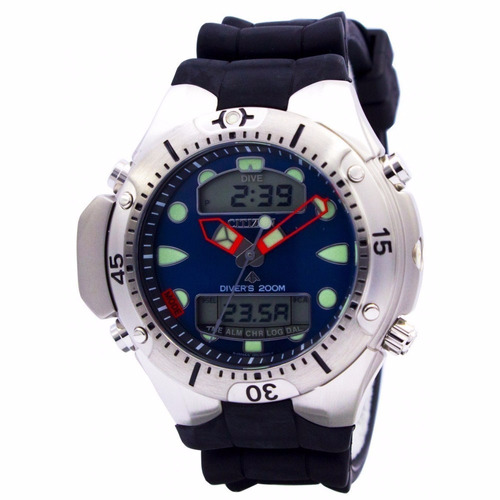 1b7dc15be5b Relógio Citizen Eco Drive Tz10020j Aqualand - Azul - R  145