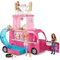 Barbie Family Novo Mega Trailer Mattel