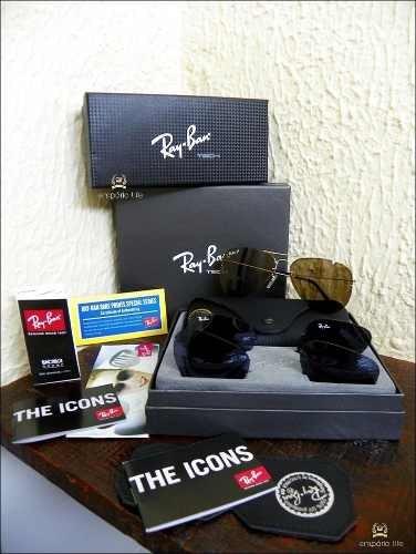 44389cf8e Óculos Rayban Top Tech Flip Out Rb3460 Troca Lentes - Origin - R ...