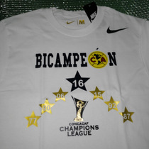 Playera Bicampeon Club America 2016 / Concacaf
