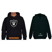 Sudadera Raiders Oakland Tipo Nfl (personalizada)
