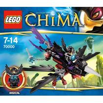 Lego Legends Of Chima 70000 Razcal Glider