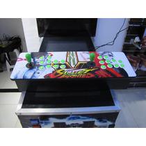 Arcade Fliperama Duplo C/ Raspberry Pi 3, São 5 Mil Jogos