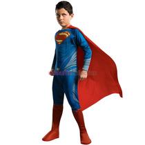 Disfraz Superman Hombre De Acero Importados Originales