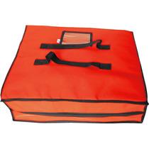 Bolsa Térmica Quadrada Entrega Pizza Embalagem Até 45cm