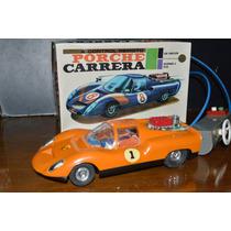 Juguete Antiguo Auto Porsche Rullero A Control Remoto