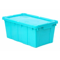 Caja De Plástico / Canadá Con Tapa / Medidas:50x30x21h