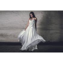 Alquiler De Vestido De Novia Blanco