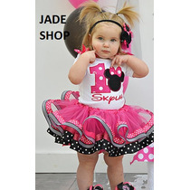 Tutu De Minnie Vestido Minnie Conjuntos Minnie