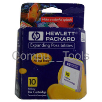 Cartucho Tinta Hp C4842a Color Amarillo /yellow 10 Cartridge