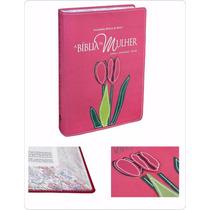 Bíblia Sagrada De Estudo Da Mulher Grande + Frete