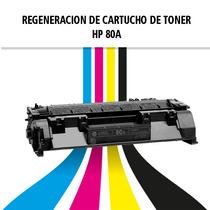 Recarga Y Regeneracion Cartucho Hp 80a
