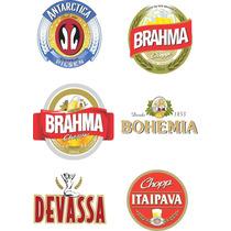 Rótulos Personalizados Cerveja Artesanal Em Papel 6cmx9cm