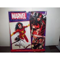 Calendario Women Of Marvel Universe Mujeres Marvel Comics