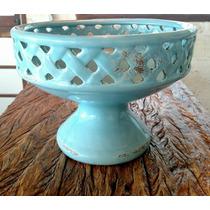 Vaso Decorativo Cachepô Cerâmica Enfeite Centro De Mesa