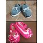 Hermosos Zapatos De Bebe Tejidos