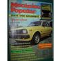 Revista Mecanica Popular 8/80 Auto Tercel Botes Televisores