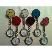 Reloj Colgante Carita Feliz Para Enfermeras